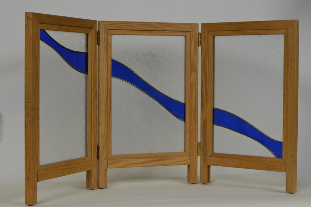 Oak Countertop Display